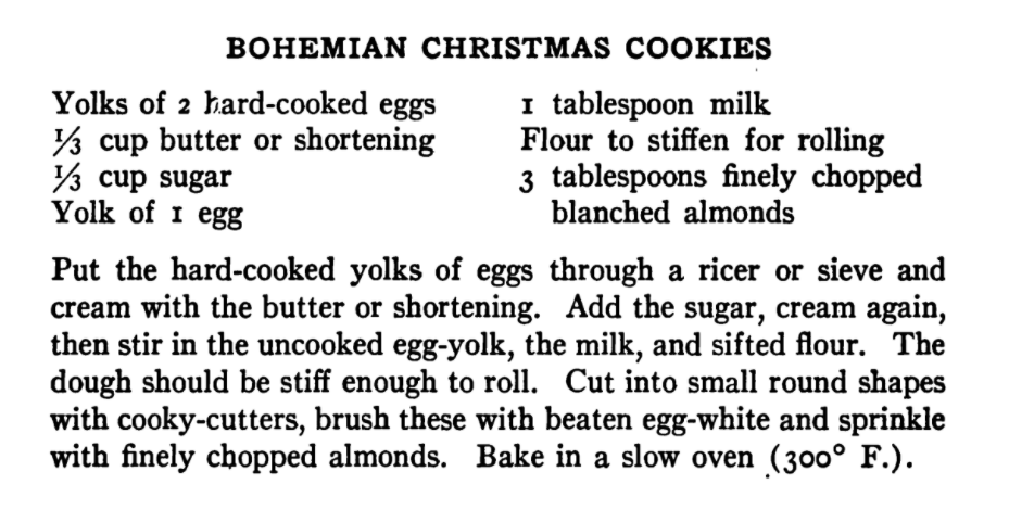 1920s cookie recipe