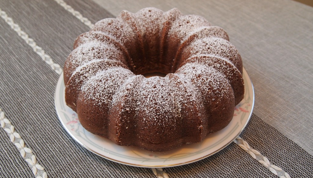 a black walnut bundt cake